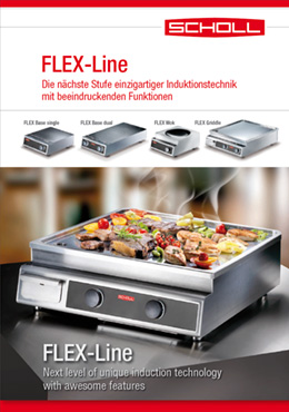 Scholl Gastro FLEX-Line induction technology