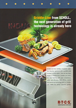Griddle-Line table top units