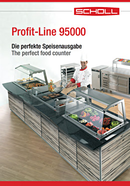 Profit-Line servery counter