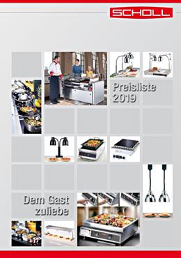 Scholl Gastro Pricelist 2019
