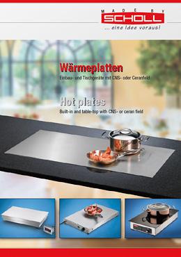 Scholl Gastro Wärmeplatten